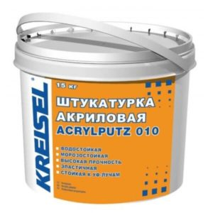 Штукатурка  ACRYLPUTZ 010 BR 2.0 база -В  (15 кг) Самострой stroi-base.ru