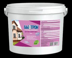 Быстрой Грунтовка акриловая бетон-контакт, 14 кг Самострой stroi-base.ru
