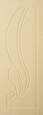 Дверь межкомнатная  ПВХ, Тип Лотос, 80, глухая, беленый дуб Самострой stroi-base.ru