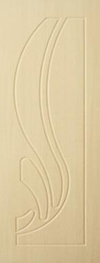Дверь межкомнатная  ПВХ, Тип Лотос, 90, глухая, беленый дуб Самострой stroi-base.ru