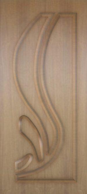 Дверь межкомнатная  ПВХ, Тип Лотос, 80, глухая, дуб классик Самострой stroi-base.ru
