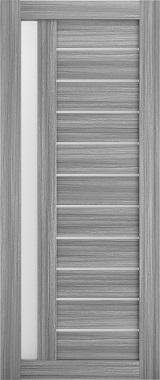 Дверь межкомнатная , Техно 14, 80, пепельный дуб Самострой stroi-base.ru
