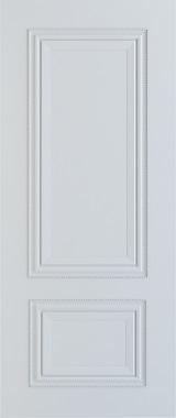 Дверь межкомнатная Сицилия, Глухая, Эмаль белая stroi-base.ru