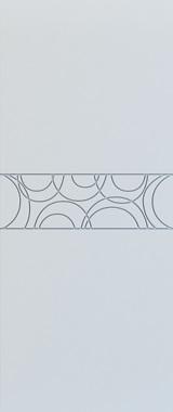 Дверь межкомнатная Тоскана, Глухая, Эмаль белая/Патина серебро stroi-base.ru