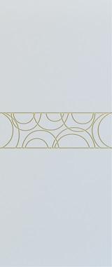 Дверь межкомнатная Тоскана, Глухая, Эмаль белая/Патина золото stroi-base.ru