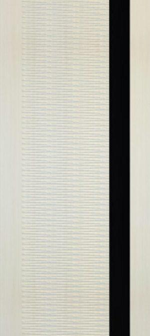 Дверь межкомнатная Палермо 3D, Стекло черное, Лиственница Самострой stroi-base.ru