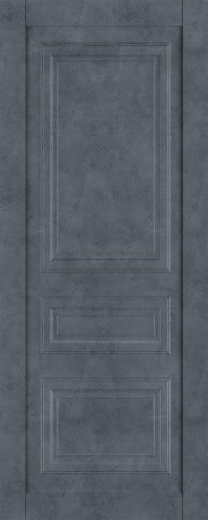 Дверь межкомнатная  Манхеттен, серия Манхеттен-1, 80, глухая, бетон графит Самострой stroi-base.ru