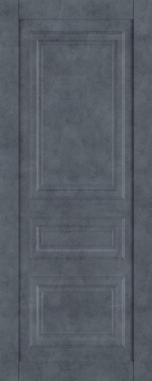 Дверь межкомнатная  Манхеттен, серия Манхеттен-1, 90, глухая, бетон графит Самострой stroi-base.ru