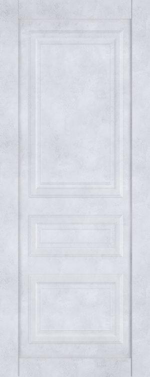 Дверь межкомнатная  Манхеттен, серия Манхеттен-1, 60, глухая, бетон снежный Самострой stroi-base.ru