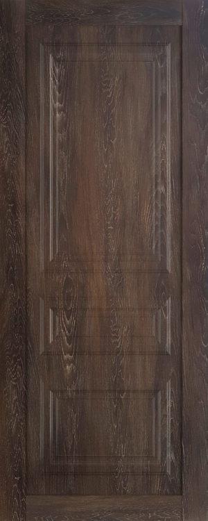Дверь межкомнатная  Манхеттен, серия Манхеттен-1, 80, глухая, шале морёный Самострой stroi-base.ru