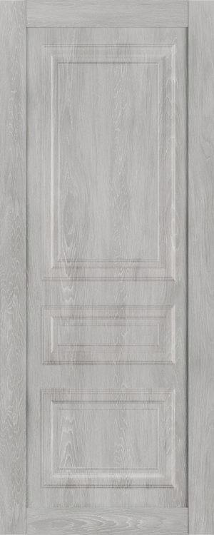 Дверь межкомнатная  Манхеттен, серия Манхеттен-1, 80, глухая, шале серый Самострой stroi-base.ru