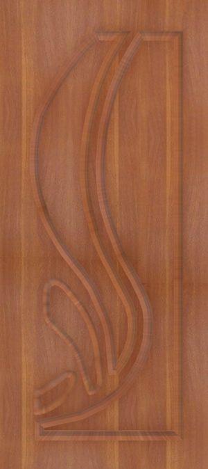 Дверь межкомнатная  ПВХ, Тип Лотос, 80, глухая, итальянский орех Самострой stroi-base.ru