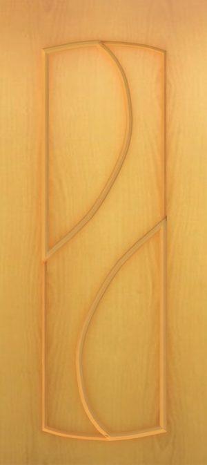 Дверь межкомнатная  ПВХ, Тип Фаина, 70, глухая, миланский орех Самострой stroi-base.ru