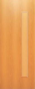 Дверь межкомнатная  ламинированная, Тип 3, 90, глухая, миланский орех Самострой stroi-base.ru