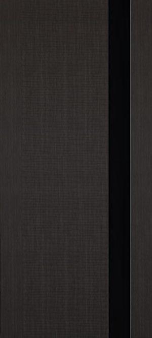 Дверь межкомнатная Палермо 3D, Стекло черное, Темный орех Самострой stroi-base.ru