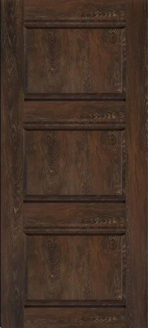 Дверь межкомнатная Корсика, Глухая, Шале мореный Самострой stroi-base.ru
