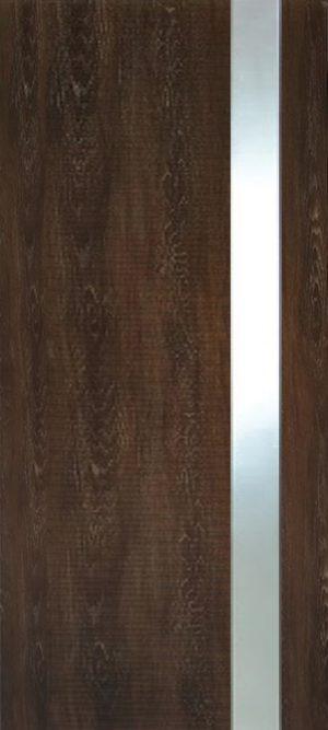 Дверь межкомнатная Палермо 3D, Стекло матовое, Шале мореный Самострой stroi-base.ru