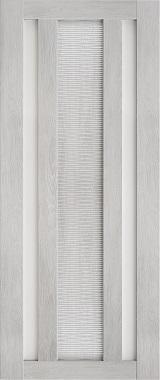 Дверь межкомнатная Техно 6-3D, Сатинат, Шале серый Самострой stroi-base.ru