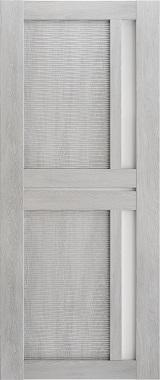 Дверь межкомнатная Техно 9-3D, Сатинат, Шале серый Самострой stroi-base.ru