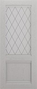 Дверь межкомнатная Венеция, Остекленная, Шале серый Самострой stroi-base.ru