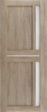 Дверь межкомнатная Техно 9-3D, Сатинат, Шале золотой Самострой stroi-base.ru