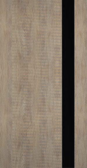Дверь межкомнатная Палермо 3D, Стекло черное, Шале золотой Самострой stroi-base.ru