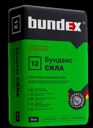 """Клей плиточный """"Бундекс Сила"""" Самострой stroi-base.ru"""