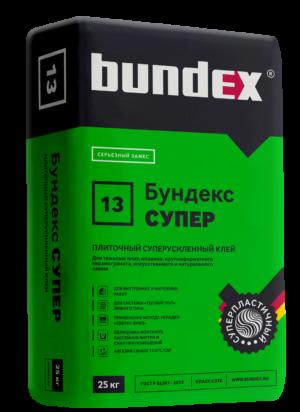 """Клей плиточный """"Бундекс Супер"""" Самострой stroi-base.ru"""