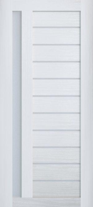 Дверь межкомнатная , Техно 14, 90, ясень белый Самострой stroi-base.ru