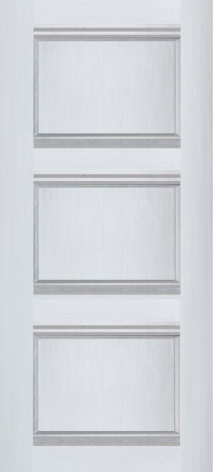Дверь межкомнатная Корсика, Глухая, Ясень белый Самострой stroi-base.ru