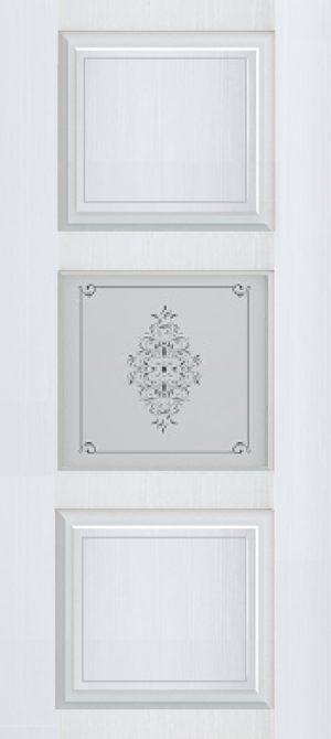 Дверь межкомнатная Прованс-4, Cтекло c художественной печатью, Белый ясень Самострой stroi-base.ru