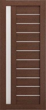 Дверь межкомнатная , Техно 14, 70, ясень коричневый Самострой stroi-base.ru