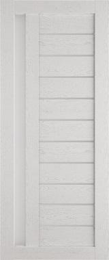 Дверь межкомнатная , Техно 14, 80, ясень серый Самострой stroi-base.ru
