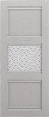 Дверь межкомнатная Корсика, 1 стекло, Серый ясень Самострой stroi-base.ru