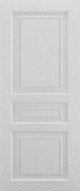 Дверь межкомнатная Прованс-1, Глухая, Серый ясень Самострой stroi-base.ru