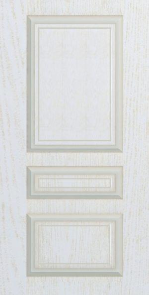 Дверь межкомнатная Прованс-1, Глухая, Золотой ясень Самострой stroi-base.ru