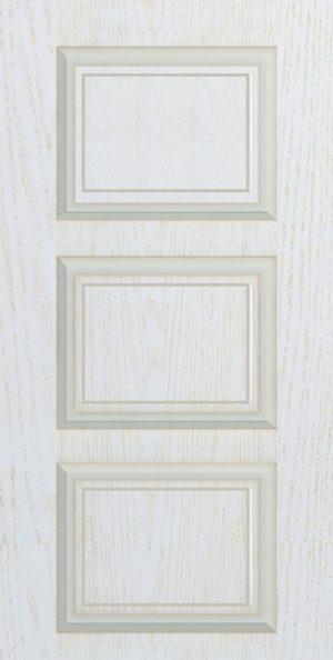 Дверь межкомнатная Прованс-3, Глухая, Золотой ясень Самострой stroi-base.ru